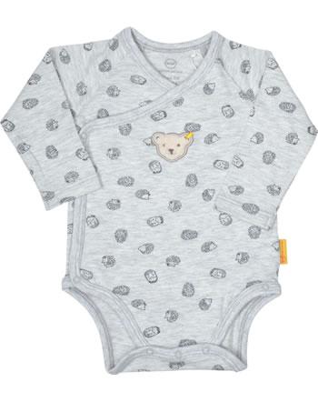 Steiff Wickel-Body Langarm LETS PLAY Baby Boys nimbus cloud 2121312-9017