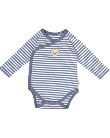 Steiff Body pour bébé mances longues RAINDROPS BABY ORGANIC stonewash 2022515-6059