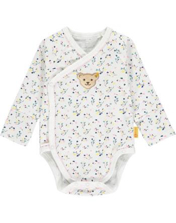 Steiff Wickel-Body Langarm SWEET HEART Baby Girls cloud dancer 2121436-1001