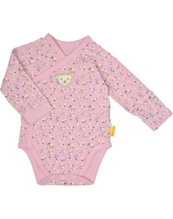 Steiff Wickel-Body Langarm SWEET HEART Baby Girls pink nectar 2121436-3035