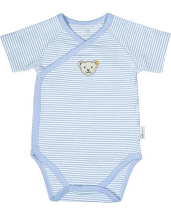 Steiff bodysuit BABY UNISEX ORGANIC steiff baby blue 2012303-3023