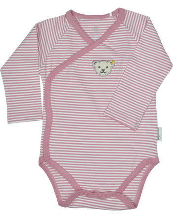 Steiff bodysuit BABY UNISEX ORGANIC mauveglow 2012306-3021