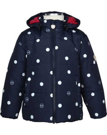 Steiff Winter-Jacket with hood BEAR TO SCHOOL steiff navy 2021225-3032