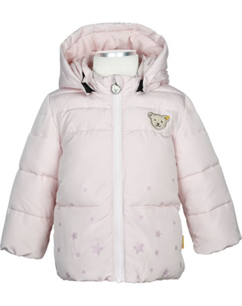 Steiff Winter-Jacket with hood FAIRYTALE Baby Girls barely pink 2023401-2560