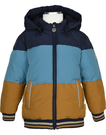 Steiff Jacket with hood FOREST FRIENDS Mini Boys cashew 2023101-8011