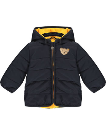 Steiff Winter-Jacket with hood INDI BEAR Baby Boys steiff navy 2022301-3032