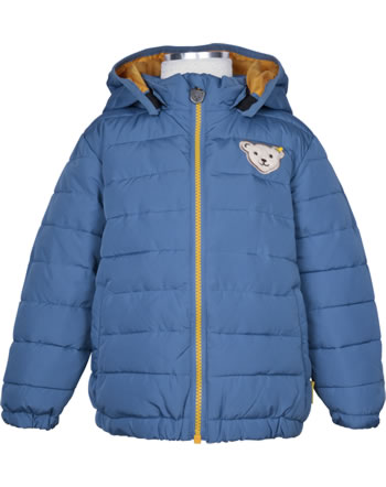 Steiff Winter-Jacke mit Kapuze INDI BEAR Mini Boys coronet blue 2022102-6048