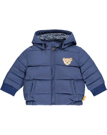 Steiff Winter-Jacke mit Kapuze LETS PLAY Baby Boys bijou blue 2121338-6066