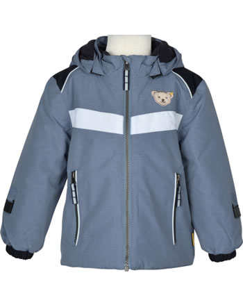 Steiff Winter-Jacket with hood OUTDOOR quarry 1923704-9007