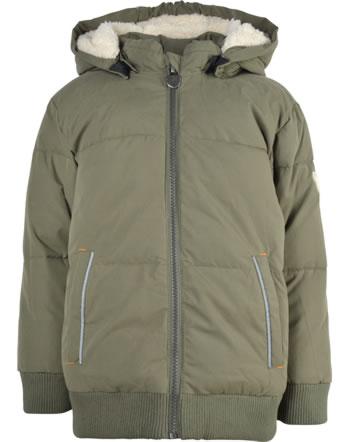 Steiff Winter-Jacke mit Kapuze POLAR FRIENDS Mini Boys dusty olive 2123101-5020