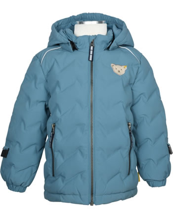 Steiff Winter-Jacket with hood STEIFF TEC OUTERWEAR adriatic blue 2023701-6045