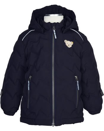 Steiff Winter-Jacket with hood STEIFF TEC OUTERWEAR steiff navy 2023701-3032
