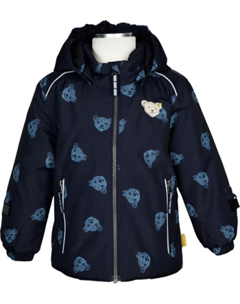 Steiff Winter-Jacket with hood STEIFF TEC OUTERWEAR steiff navy 2023702-3032