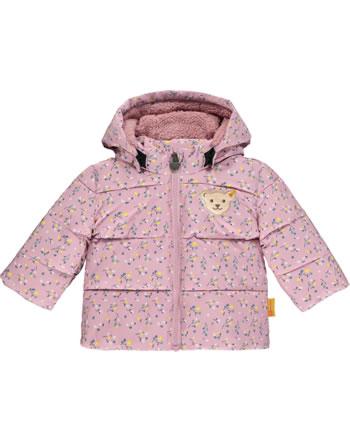 Steiff Winter-Jacke mit Kapuze SWEET HEART Baby Girls pink nectar 2121437-3035