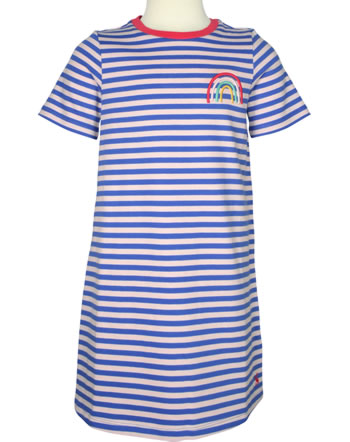 Tom Joule Robe manches courtes ROSALEE blue rainbow 211787