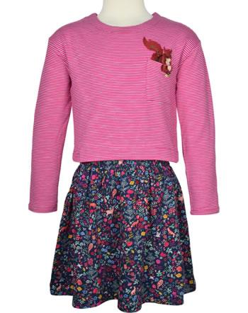 Tom Joule Jersey Applique Dress long sleeve ROSE wood squirrel 215344