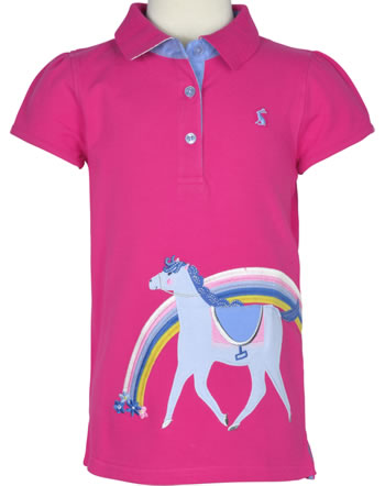 Tom Joule Applique Polo Shirt MOXIE hot pink horse 207874-HOTPN