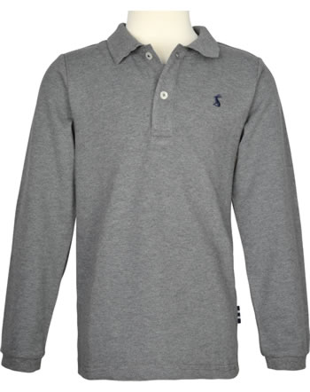 Tom Joule Applique Polo Shirt WOODWELL grey marl 213645