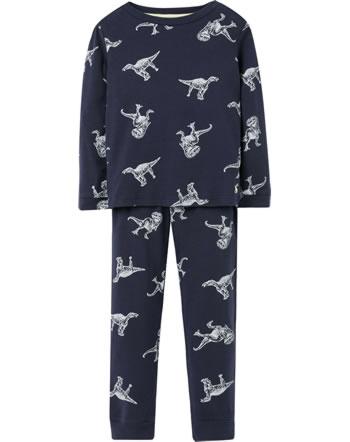 Tom Joule Schlafanzug Pyjama Glow in the dark DINO SNOOZE navy 213869-NVGLOW