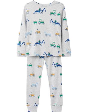 Tom Joule Schlafanzug Pyjama KIPWELL GRYTRACTOR grau 214106