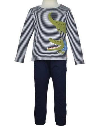 Tom Joule Set Shirt manches longues et pantalon JULIAN navy stripe croc 213682