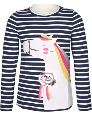 Tom Joule Shirt manches longues AVA navy stripe horse 207848-NVYST
