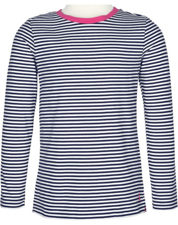 Tom Joule Jersey Applique T-Shirt long sleeve PASCAL blue white stripe 209776-BLUWH
