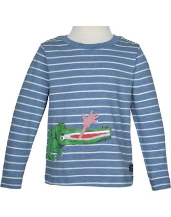 Tom Joule Shirt Langarm ZIPADEE bluecroc 210647-BLUECROC
