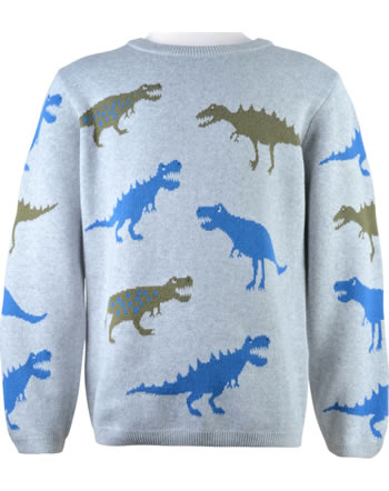 Tom Joule Knit sweater BRANFORD grey dinos 210619-GREYDINOS