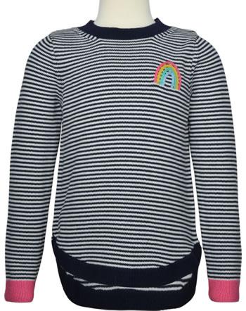 Tom Joule Knit sweater ISABELLA RAINBOW navy stripe 209936-NVSTR