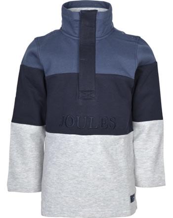 Tom Joule Sweatshirt with zipper DALE blue grey 214323