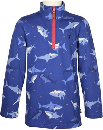 Tom Joule Sweatshirt with zipper DALE blue shark 215124-BLUESHARK