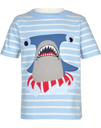 Tom Joule T-Shirt manches courtes ARCHIE blue stripe Shark 207801