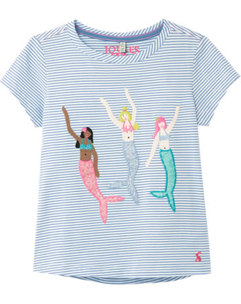Tom Joule Shirt manches courtes ASTRA blue stripe Mermaids 207871
