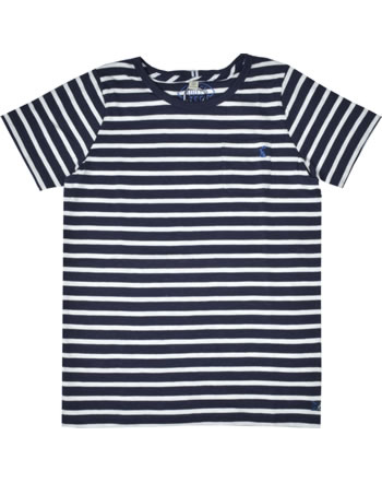 Tom Joule T-Shirt manches courtes LAUNDERED STRIPE navy white stripe 212259