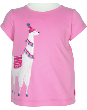 Tom Joule Applique Top short sleeve MAGGIE pink Lama 208401