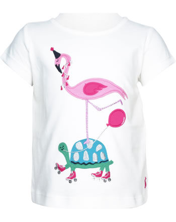 Tom Joule Shirt manches courtes MAGGIE white tortue flamingo 208401