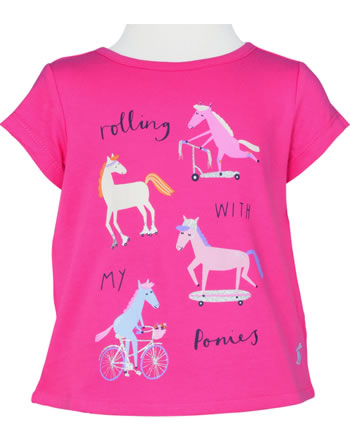Tom Joule T-Shirt Screenprinted short sleeve true pink Z_YNGPIXIE-TRPONY