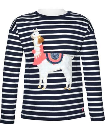 Tom Joule T-Shirt Langarm LORELLE navy stripe 209885-NAVYLLAMA