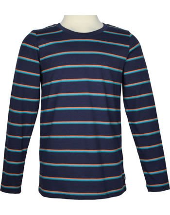 Tom Joule T-Shirt manches longues MERLIN navy stripe 213413
