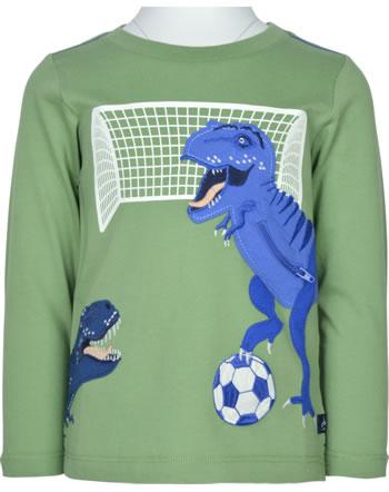 Tom Joule T-Shirt long sleeve ZIPADEE green football dino 215203