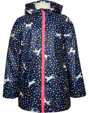 Tom Joule AOP Rubber coat RAINDANCE navy unicorn 212982-NVYUNICOR