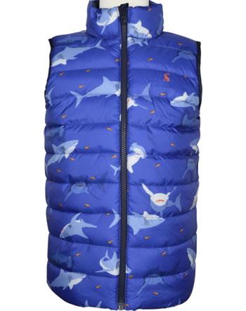 Tom Joule Reversible Vest FLIP IT blue shark 215098
