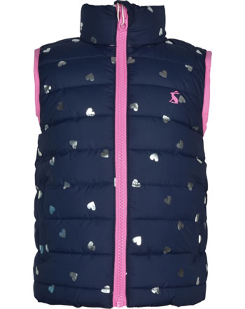 Tom Joule Gilet réversible FLIP IT navy heart 206820