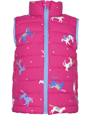 Tom Joule Gilet réversible FLIP IT pink horse 206820-PNKHO