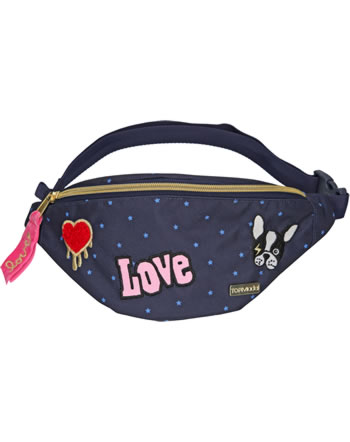 TOPModel Bauchtasche DOG Patches