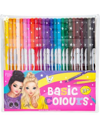 TOPModel Buntstift-Set Basic Colours 24 Grundfarben Miju und Candy 6710
