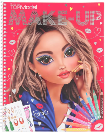 TOPModel Create your TOPModel Make Up Painting book Fergie 10728/C