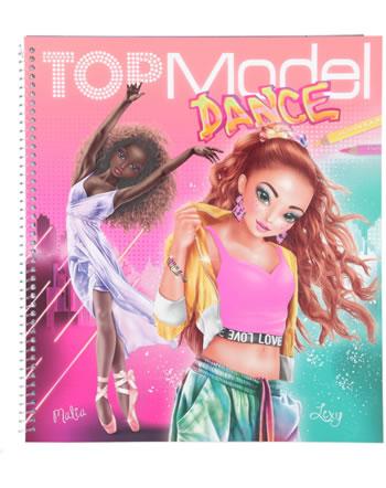TOPModel livre à colorier DANCE Malia et Lexy 11453