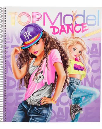 TOPModel DANCE Malbuch Talita und Louise